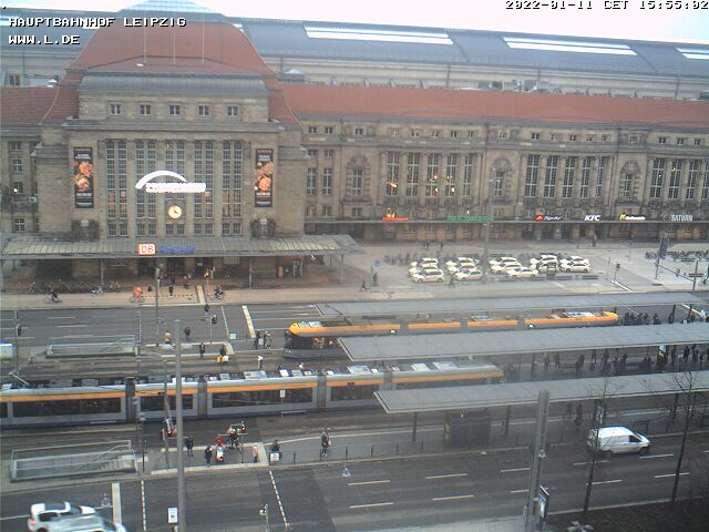 Webcam Leipzig Hauptbahnhof
